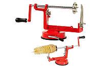 Аппарат для нарезки картофеля спиралью Spiral Potato Chips, машинка для спиральных чипсов Спираль Потейто Чипс, фото 1