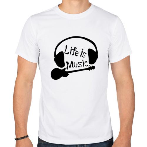 Футболка «Life is Music»