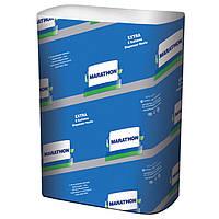Полотенце бумажное Marathon 32660410 белый целюлозный Extra ZZ 2-х слойн. 200лист.