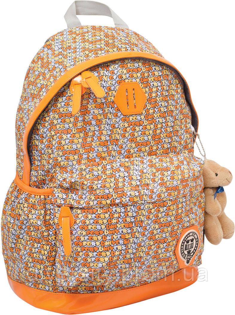 "Рюкзак подростковый Х166 ""Oxford"" оранжевый, 47*31*18.5см"