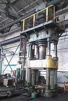 Press hydraulic effort 1000t model D 2240 , фото 1
