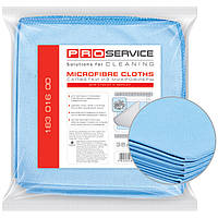 Салфетка для уборки PROservice 18301600 синий 5шт 35х35см микрофибра для стекла