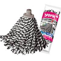 """Комплектующие на швабры для пола York 7306 для швабры Моп хлопок """"Zebra"""""""