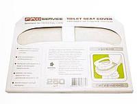 PROservice 31200100 белый накладки на сидение унитаза 1/2 250 шт.