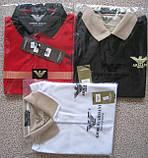 ARMANI чоловіча футболка поло армані купити в Україні, фото 2