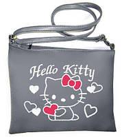 Сумка через плечо «Hello Kitty с сердечками»