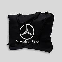 """Сумка дорожная """"Mercedes - Benz"""" черная"""
