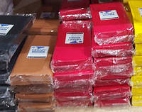 Полимерная глина Цернит Cernit (Бельгия) эконом упак.500 г -красный 463