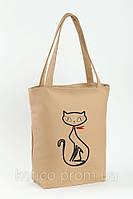 Сумка Стандарт «Кошка с бантиком»
