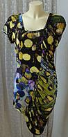 Платье женское легкое летнее яркое модное Anna р.50 6273