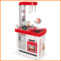 Детская игровая кухня Bon Appetit Red со звуком Smoby 310800