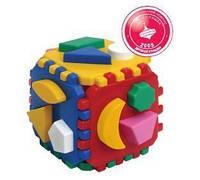 Развивающая игрушка куб сортер Розумний малюк ТехноК 0458