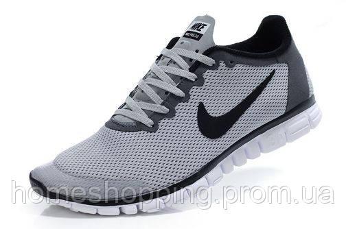 Кроссовки мужские Nike Free 3.0 V2 Black черные7