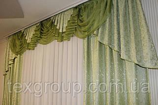 Готовые шторы с ламбрекеном №231, фото 2