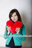 Плюшевое сердце 40 см