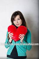 Плюшевое сердце 30 см
