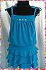 "Детский летний костюм для девочки ""Anniston"" майка и юбка с рюшами (6 цветов), фото 4"