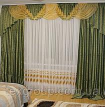 Готовые шторы с ламбрекеном №231, фото 3