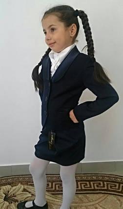"""Школьный подростковый пиджак для девочки """"Michele"""" на пуговицах, фото 2"""