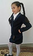 """Школьный подростковый пиджак для девочки """"Michele"""" на пуговицах"""