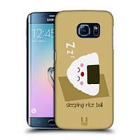Пластиковый чехол для Samsung Galaxy S6 узор Рисовый шарик