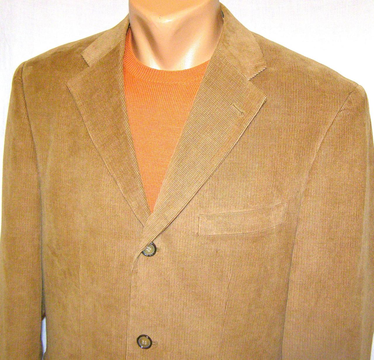 Пиджак CAMEL - микро вельвет (50-52)