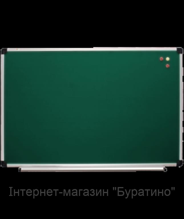 Доска для мела 150х100 см АВС (Чехия) в алюминиевой рамке, фото 1