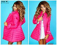 Модная удлиненная куртка в расцветках 900 (794), фото 1