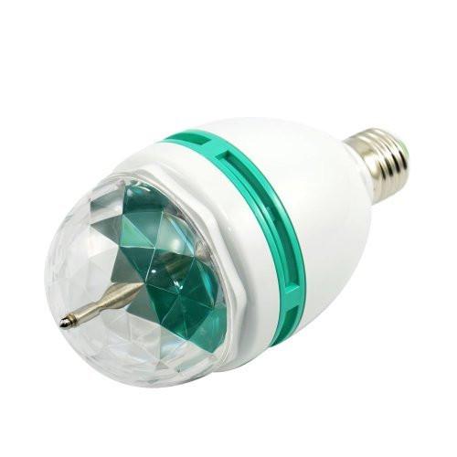 Вращающаяся LED лампа для вечеринок, 6Вт большая