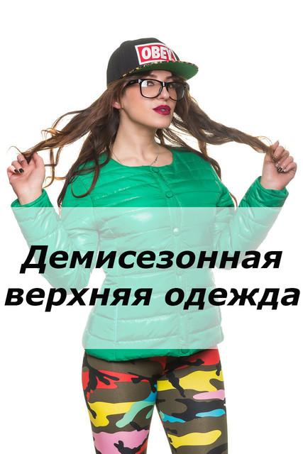 Демисезонная верхняя одежда