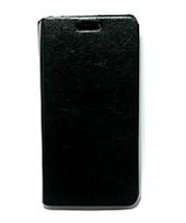 Чехол книжка для Lenovo A6000 боковой PREMIUM, Черный