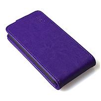 Чехол книжка для Lenovo A5000 вертикальный флип Фиолетовый