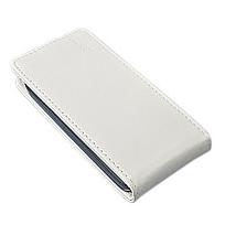 Чехол книжка для Lenovo A5000 вертикальный флип Красный