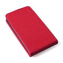 Чехол книжка для Lenovo A5000 вертикальный флип Белый