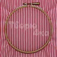 Ткань для пэчворка, кукл тильда красная в полосочку