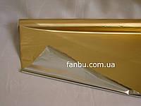 Полисилк на разрез, золотой ( 1 лист 0.5м*1м), фото 1
