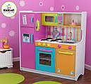 Кухня дитяча Велика кухня Веселка KidKraft 53100, фото 2