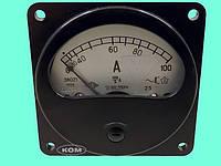 Амперметр Э8021 0-100А, тт-100/5, 50; 180-550Гц