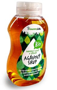 ВЕГА сироп из агавы без сахара BIO, 350 г Country Life