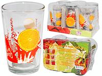 Набор стаканов 0,24 л 6шт. (4) Оранж