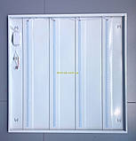 Светильник  LED-600х600 PRISMATIC , 36W 6500K 2300Lm Теплый свет 4100К, фото 5