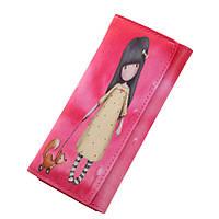 Стильный кошелек с рисунком аниме. Молодежные кошельки с принтом в четырех цветах.