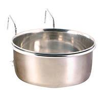 Миска для птиц Trixie, металлическая, подвесная, 0,3л