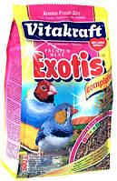 Корм Vitakraft Exotis для мелких экзотических птиц, 1 кг, 21323