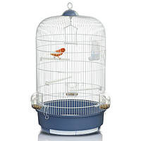 Клетка для птиц Imac Luna, белая, d 40x65 см 06962
