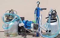 Доильный аппарат для коз парного доения сухой Стелла АИД-2/2, доильные установки в Украине