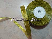 Лента парча золото 0,9 см