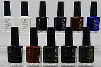 Гель-лак YRE SCL 10 ml, цветное покрытие №106-116, гель лак для ногтей