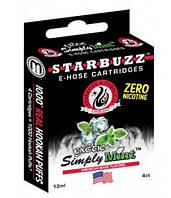 Картриджи для электронных кальянов starbuzz e-hose simply mint (нежный аромат мяты)
