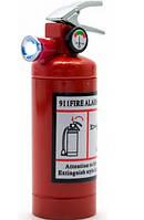 Зажигалка карманная с фонариком Огнетушитель (обычное пламя)